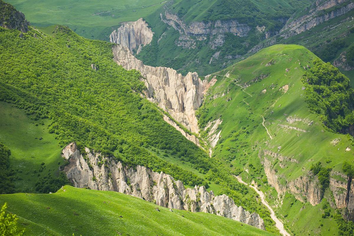 Чистый горный воздух Кавказа