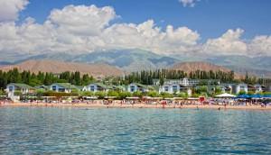 Дальний путь на удивительное горное озеро Иссык-Куль