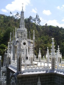 Собор Лас-Лахас в Колумбии