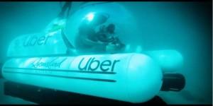 Uber запускает первое в мире подводное такси для туристов