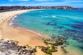 Знаменитый Сиднейский пляж Бонди-Бич
